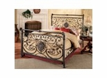 Iron Bed / Metal Bed - Mercer Bed in Antique Brown - Hillsdale Furniture