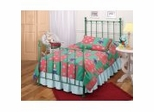 Iron Bed / Metal Bed - Molly Bed in Green - Hillsdale Furniture