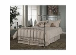 Iron Bed / Metal Bed - Taylor Bed in Nickel - Hillsdale Furniture