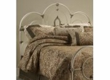 Iron Bed / Metal Bed - Victoria Bed in Antique White Finish - Hillsdale Furniture