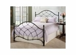 Iron Bed / Metal Bed -Wesley Bed in Black Gold - Hillsdale Furniture