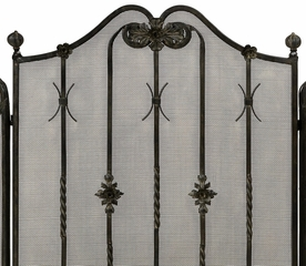 Iron Fireplace Screen - IMAX - 16178