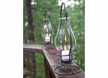 Iron Table Lantern - Black - Pangaea Home and Garden Furniture - FM-C2350-K