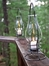 Iron Table Lantern - Pewter - Pangaea Home and Garden Furniture - FM-C2350