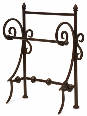 Iron Towel Holder - IMAX - 9731
