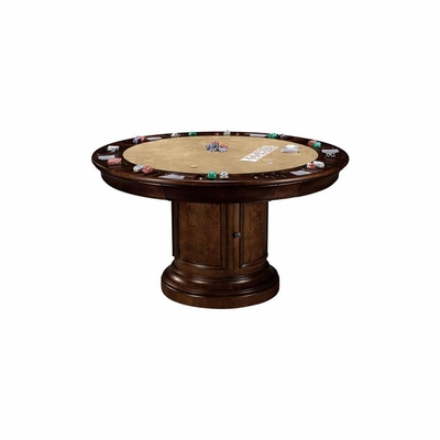Ithaca Reversible Game and Pub Table by Ty Pennington - Howard Miller