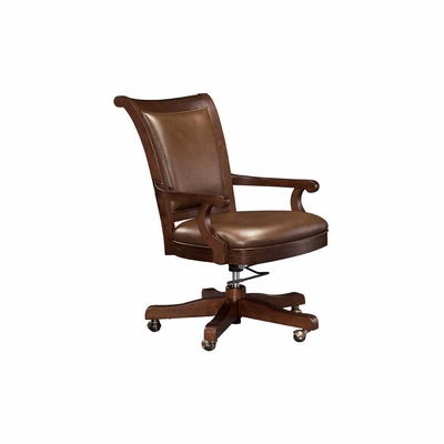 Ithaca Swivel Club Chair in Hampton Cherry - Howard Miller