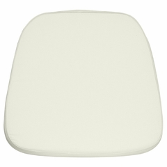 Ivory Chiavari Chair Cushion for Wood / Resin Chiavari Chairs - LE-L-C-WHITE-GG