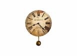 J. H. Gould and Co. II Wall Clock with Quartz Movement - Howard Miller