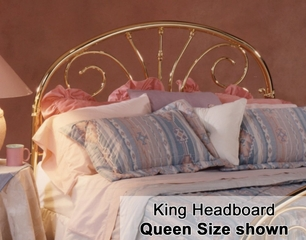 Jackson Eastern King Size Metal Headboard - 1071