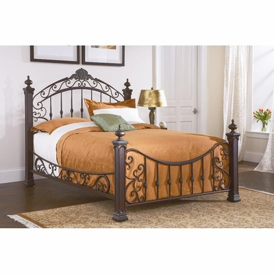 Jackson Metal Bed Weathered Copper - Largo - LARGO-ST-1225X