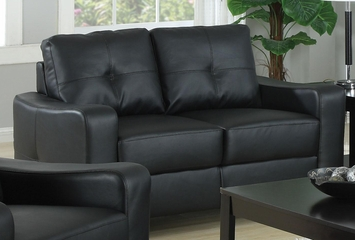 Jasmine Leather Loveseat - 502722