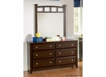 Jasper 6 Drawer Dresser with Beveled Drawer Fronts - 400753