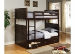 Jasper Twin Bunk Bed with Under Bed Storage Drawers - 460136