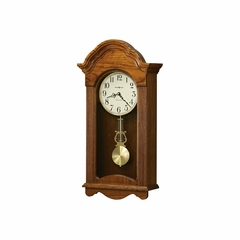 Jayla Legacy Oak Wall Clock - Howard Miller