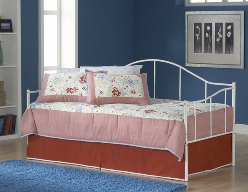 Jaylynn Daybed with Roll-Out Trundle - Hillsdale Furniture - 1498DBLHTR