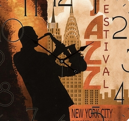 Jazz Musicians Wall Clocks (Set of 2) - IMAX - 37000-2