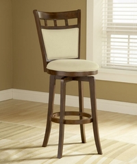 Jefferson Swivel Counter Stool with Cushion Back - Hillsdale Furniture - 4975-826