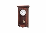 Jennelle Key Wound Wall Clock in Windsor Cherry - Howard Miller