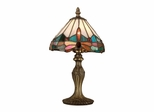 Jewel Dragonfly Accent Lamp - Dale Tiffany