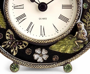 Jeweled Desk Clock - IMAX - 2594