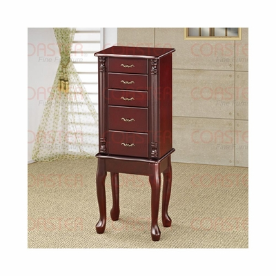 Jewelry Armoire in Cherry - Coaster