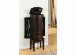Jewelry Armoire- Italian Influenced Espresso - Powell Furniture - 358-315