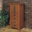 "Jewelry Armoire -""Mission Oak"" - Powell Furniture - 255"
