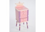 Jewelry Armoire - Princess Jewelry Cabinet - LOD20043