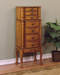 "Jewelry Armoire - ""Woodland Oak"" - Powell Furniture - 604-315"