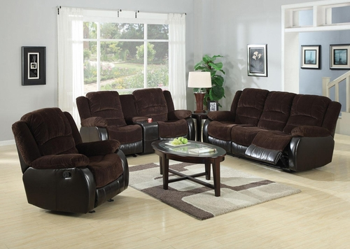 Johanna 3PC Reclining Sofa Set - 600363S