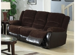 Johanna Reclining Sofa  in Chocolate - 600363S