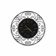 Joline Iron Wall Clock - Howard Miller