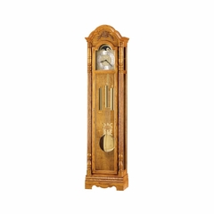 Joseph Golden Oak Grandfather Clock - Howard Miller