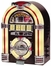 Jukebox with CD - Walnut - Crosley - CR11CD