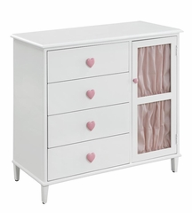 Juliette 4 Drawer Dresser with Door - 400573