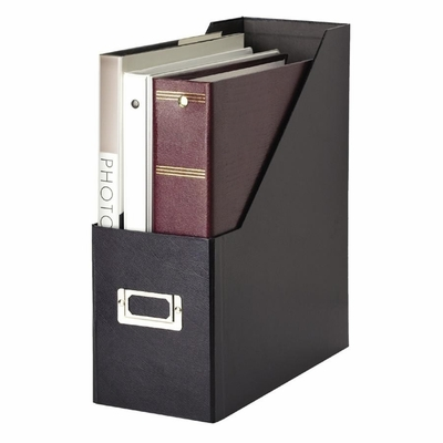 Jumbo Magazine File - Black - IDESNS01637