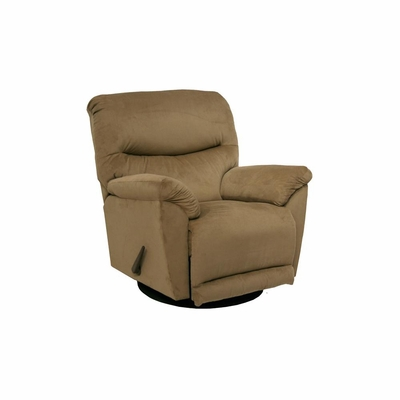 Juniper Coffee Chaise Swivel Glider Recliner - Catnapper