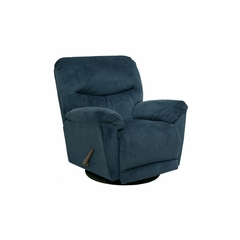 Juniper Midnight Chaise Swivel Glider Recliner - Catnapper