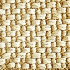 Jute Rug - 9' x 12' - Mumbai Deep Pile Hand Spun Natural Jute and Wool Rug - AMB0316-0912