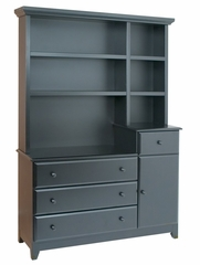 Kalani Combo Dresser and Hutch Set - DaVinci Furniture - DH-SET-1