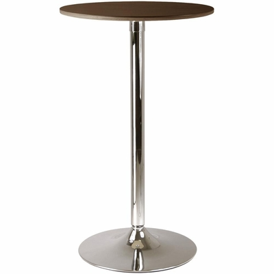 Kallie Pub Table in Cappuccino - Winsome Trading - 93424