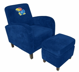 Kansas Den Chair with Ottoman - Imperial International - 126134