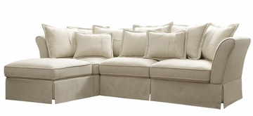 Karlee Cottage Styled Sectional in Beige - 500910