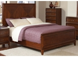 Katharine California King Bed in Oak - 202691KW