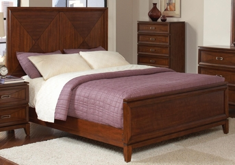 Katharine King Bed in Oak - 202691KE