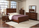 Katharine Oak 5PC Queen Bedroom Set - 202691Q