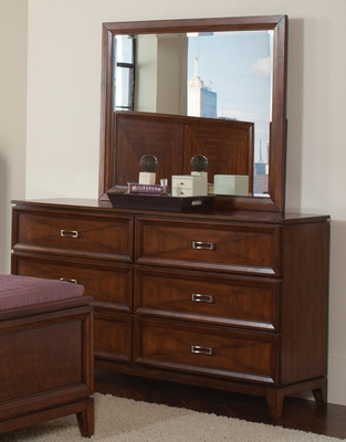 Katharine Six Drawer Dresser in Oak - 202693