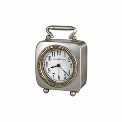 Kegan Square Quartz Alarm Clock - Howard Miller