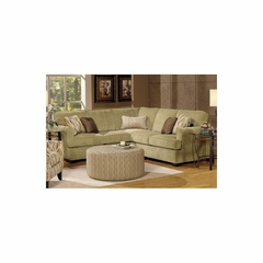 Kelly Two Piece Sectional Sofa in Herb - Jackson Furniture